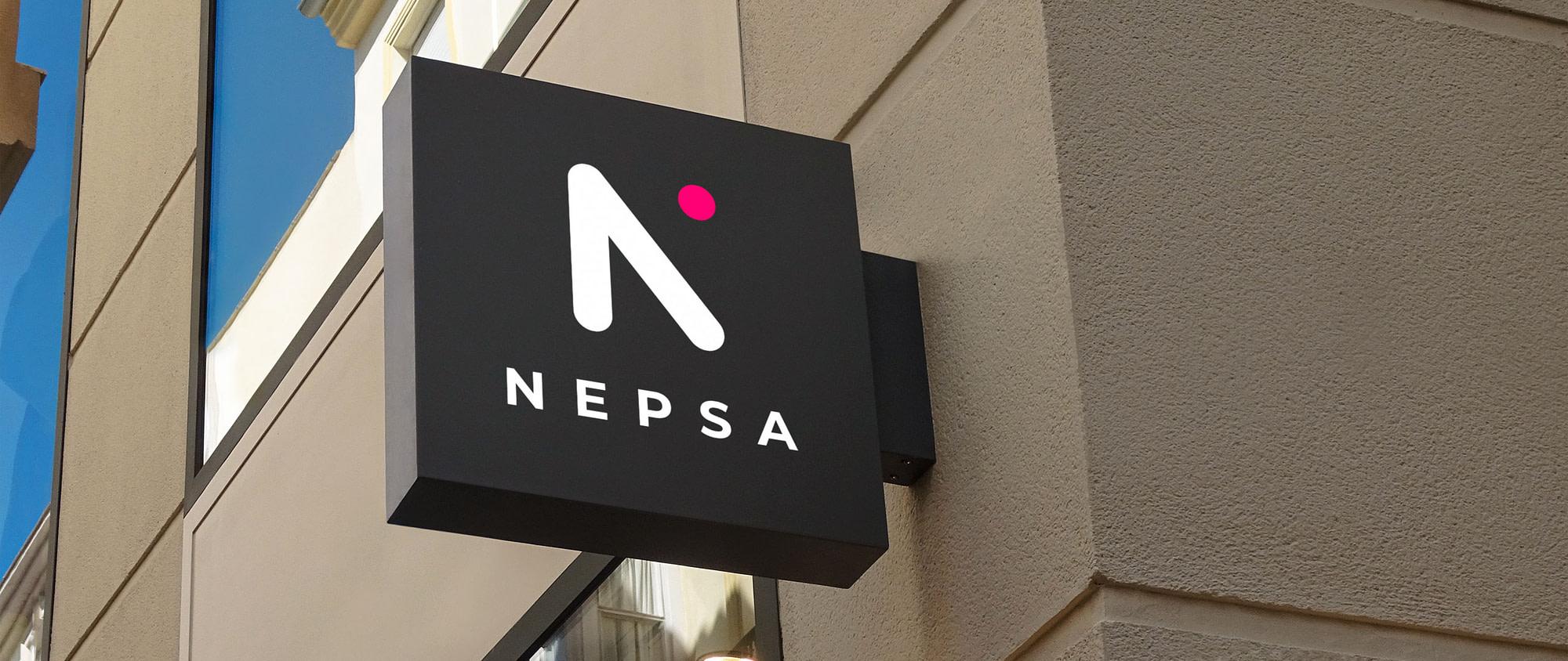 Logotype de NEPSA réalisé par TMKL