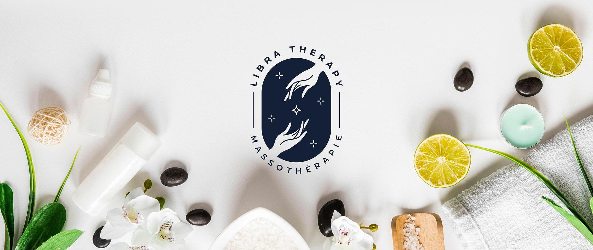 Logotype de Libra Therapy réalisé par TMKL